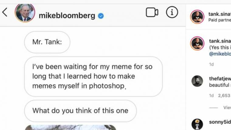 Facebook say influencer memes are not political ads