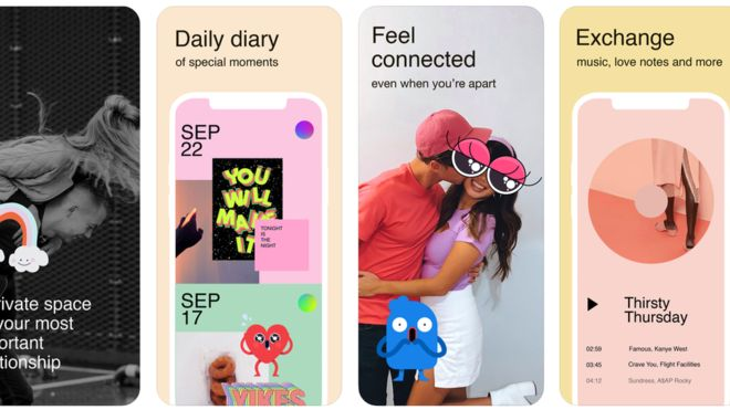 Facebook releases couples-only messaging app
