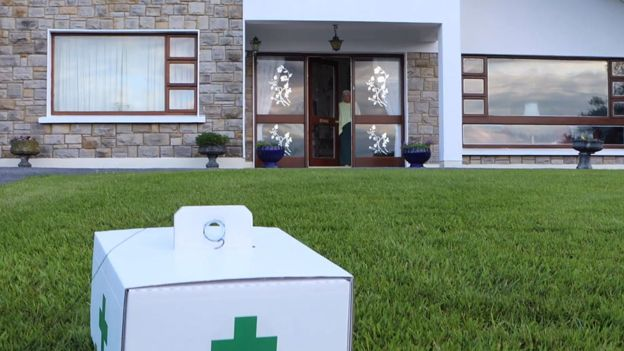 Drone-to-door prescriptions trial takes flight in Ireland